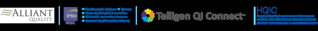 Alliant Quality HQIC IPRO HQIC and Telligen HQIC Logos