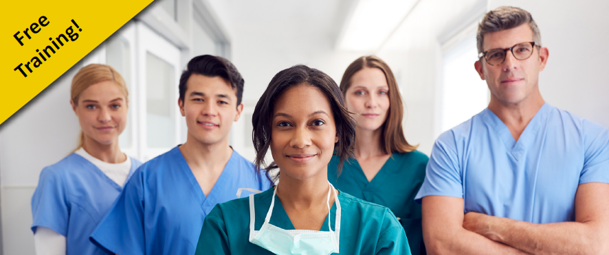 Free training for nursing home staff and managers